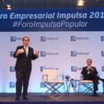 Felipe Vicini, Presidente Ejecutivo de INICIA, durante su presentación en la cuarta edición del Foro Empresarial Impulsa Popular