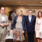 Núria Vilanova, Presidenta de ATREVIA; Felipe Vicini, President