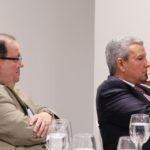 Felipe Vicini, Presidente Ejecutivo de INICIA, junto a Lisandro