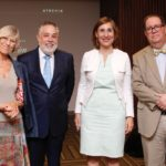 Núria Giralt, Campos De Moya, Núria Vilanova y Felipe Vicini d