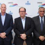 Representantes de IMG Academy, CRESO y el COD