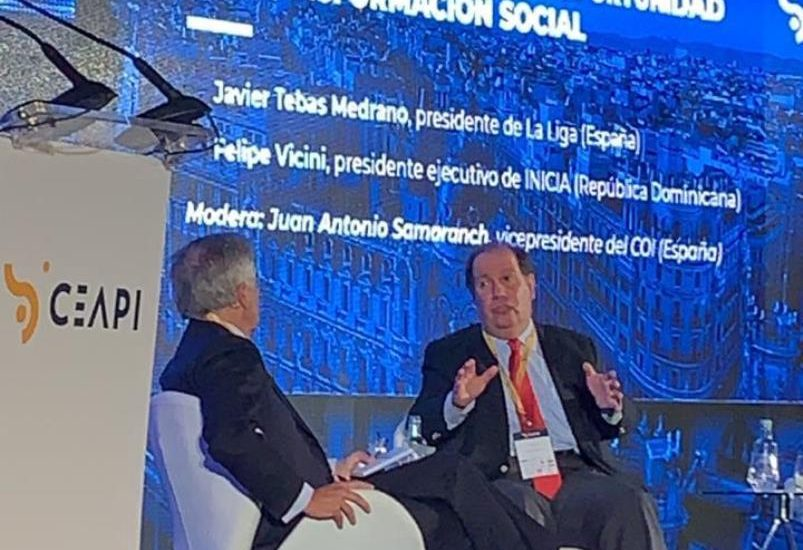 Investing in Sports and Education promotes national development and drives positive impact - felipe vicini