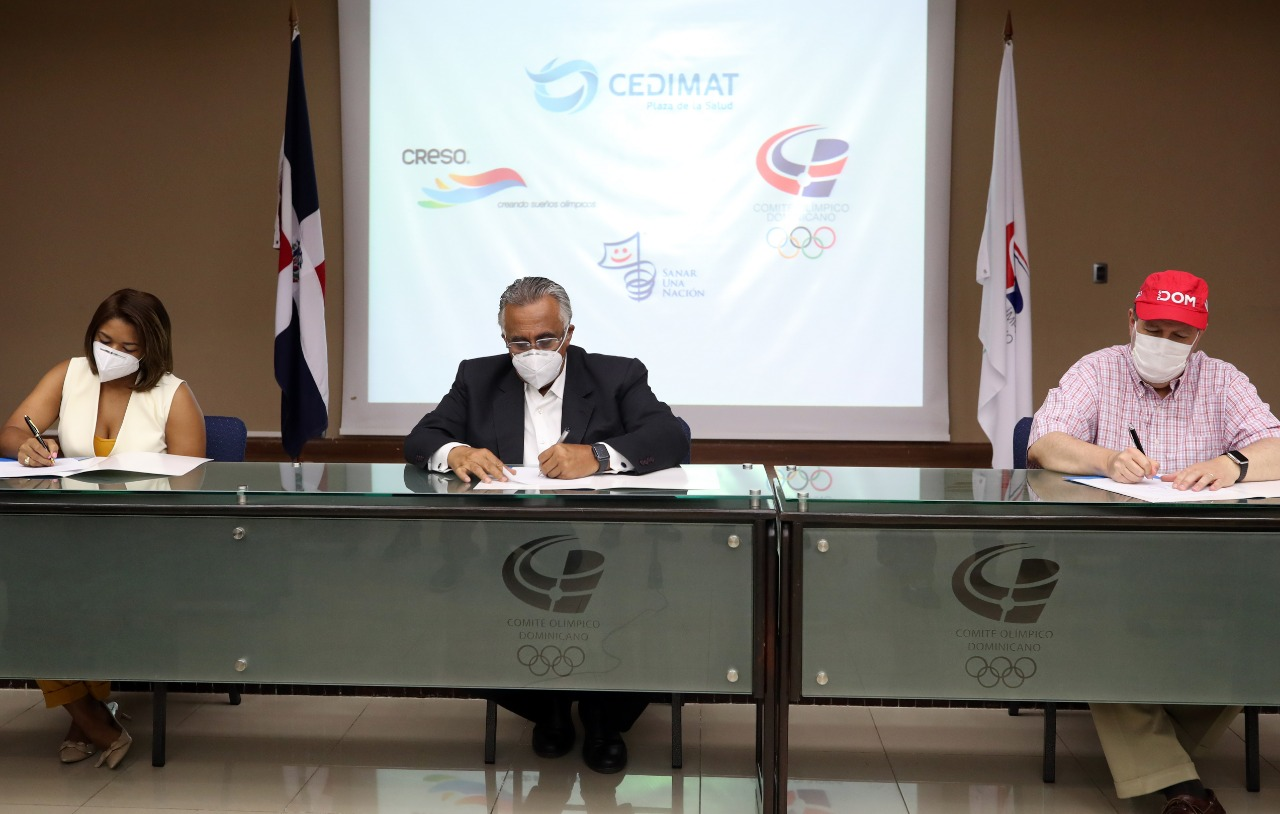 Olympic Athletes will be checked for COVID-19 symptoms in CEDIMAT - Felipe Vicini